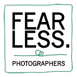 fearless logo white