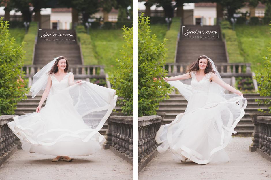 sedinta foto trash the dress