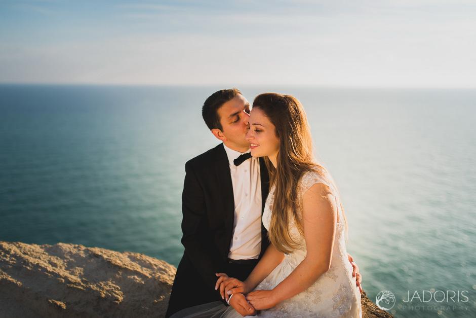 Fotografii dupa nunta la mare