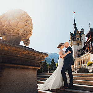 trash the dress castelul peles